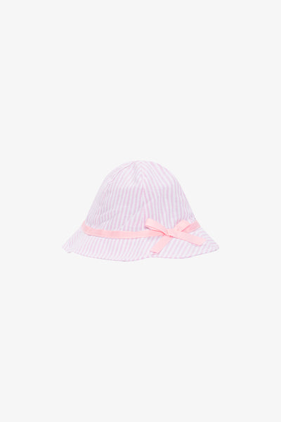 FOX Newborn & Baby Striped Bow Hat