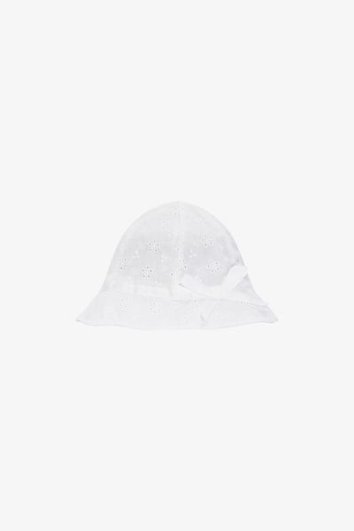 FOX Newborn & Baby Eyelet Bow Hat