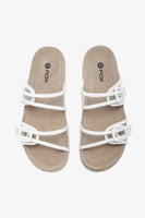 FOX Kid Girl Clear Strappy Slides