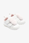 FOX BABY Girl Pom Pom Velcro Sneakers