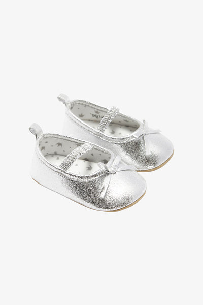 FOX BABY Girl Glitter Slip-On Ballerina