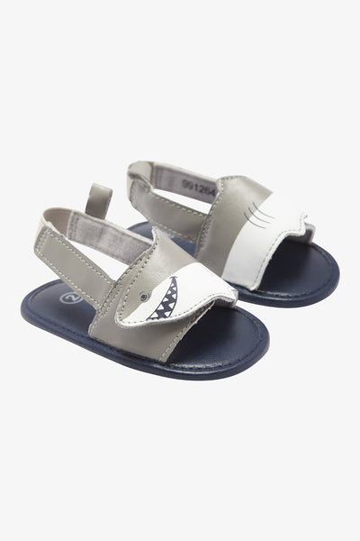 FOX BABY Boy Shark Velcro Sandals