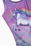 FOX Kid Girl Sleeveless Unicorn Swimsuit
