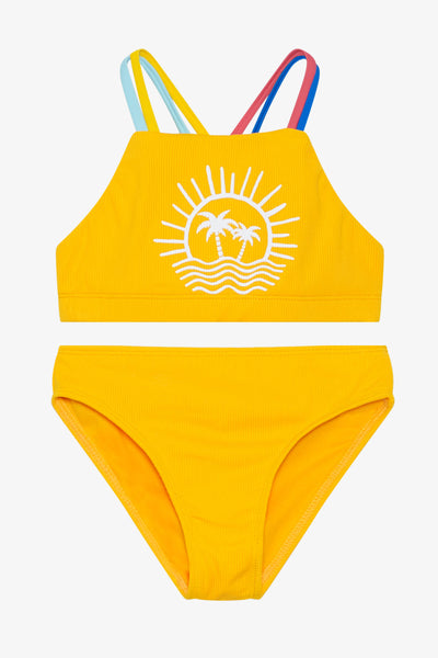 FOX Kid Girl 2-Piece Paradise Swim Set