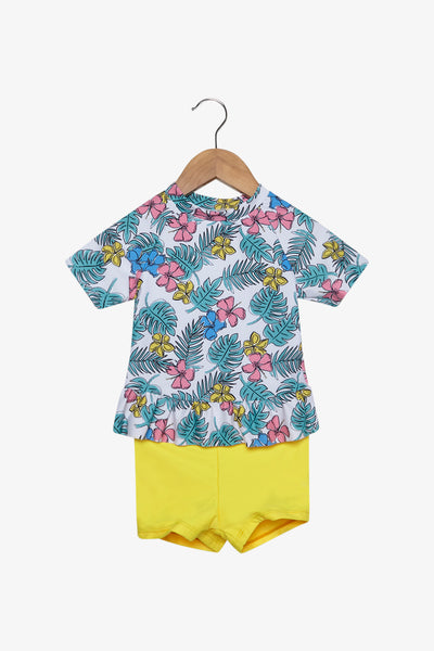 FOX Newborn & Baby 2-Piece Swim Set