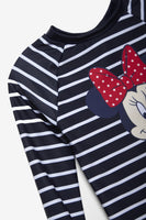 FOX Newborn & Baby 2-Piece Long Sleeve Minnie Swim Set