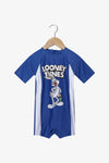 FOX Newborn & Baby Short Sleeve Looney Tunes Swimsuit