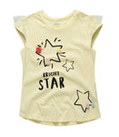 Star Tee with Pom pom
