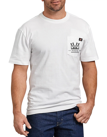 M.A.D.E. X Dickies Pocket Tee