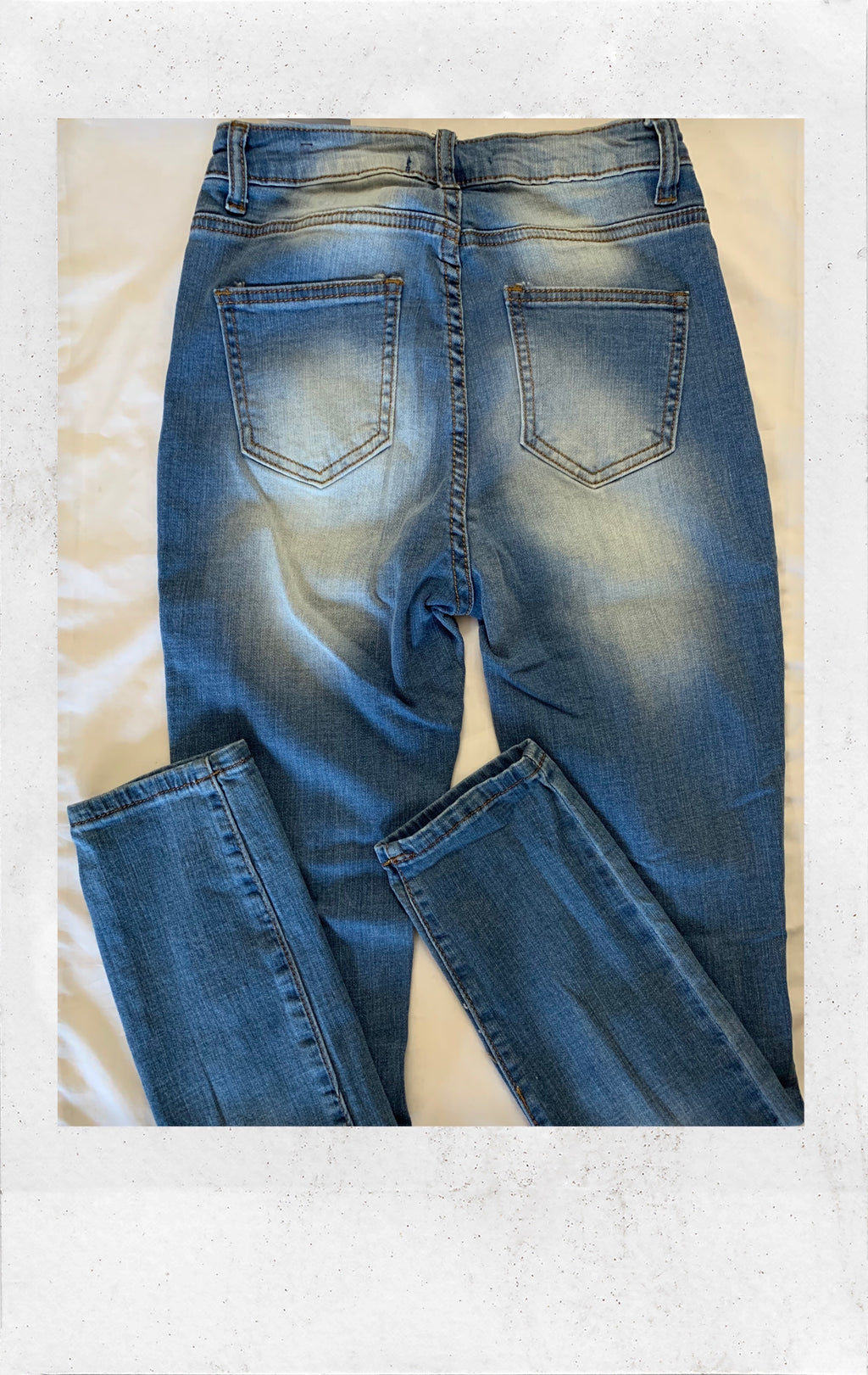 Distressed Jean (New with Tags)