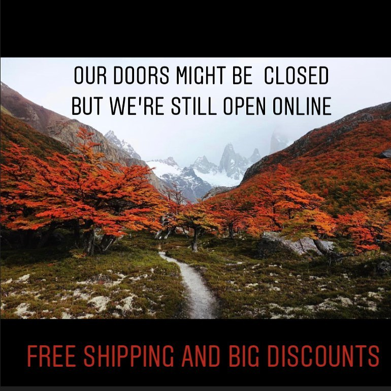 Store closed - Shop ONLINE only