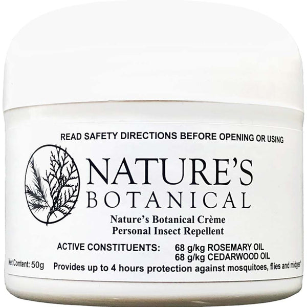 Nature's Botanical - Rosemary & Cedarwood Oil Insect Repellent Creme
