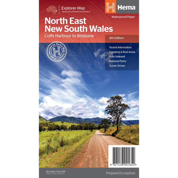 Hema Maps - North East NSW - Regional Map