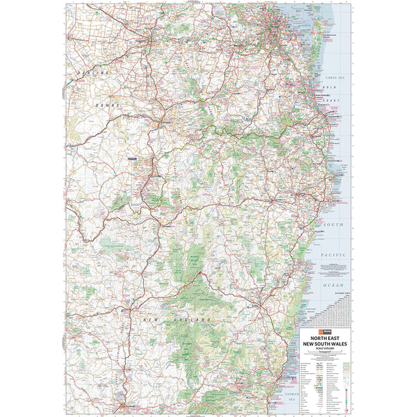 North East NSW - Regional Map