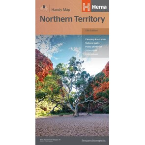 Hema Maps - Northern Territory - Handy Map