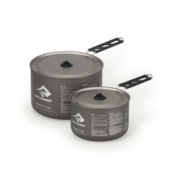 SEA TO SUMMIT - Alpha Pot Set 2.0 - 1.2L and 2.7L