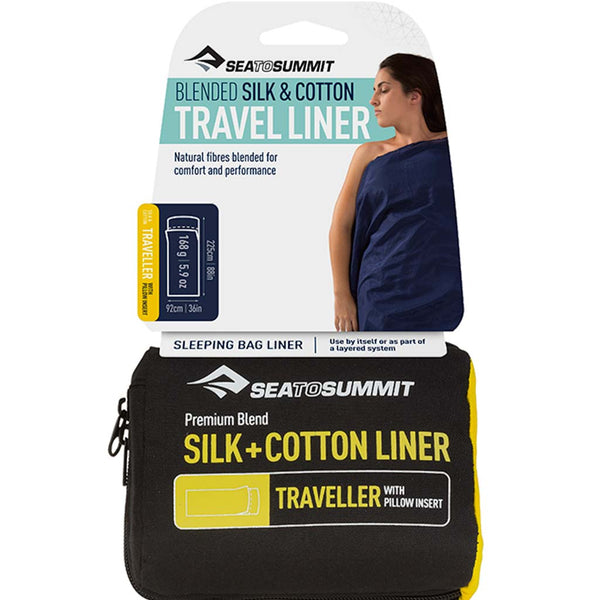 SEA TO SUMMIT - Silk/Cotton Travel Liner