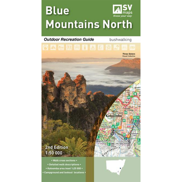 Hema Maps - Blue Mountains North