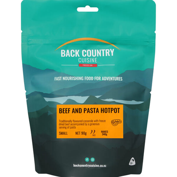 BACK COUNTRY - Beef And Pasta Hotpot