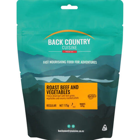 BACK COUNTRY - Roast Beef And Vegetables