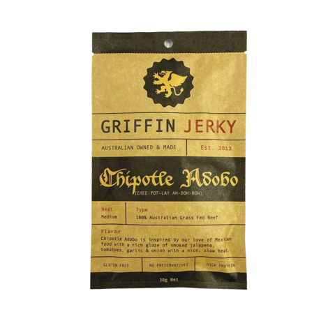 Griffin - Beef Jerky - Chipotle