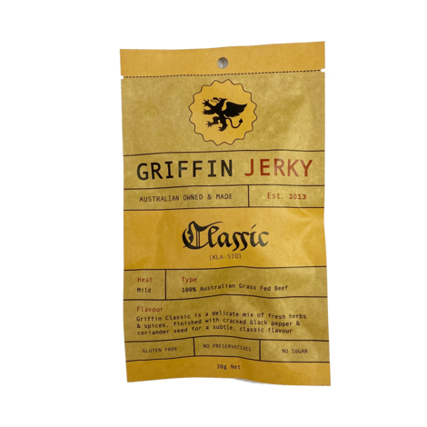 Griffin - Beef Jerky - Classic