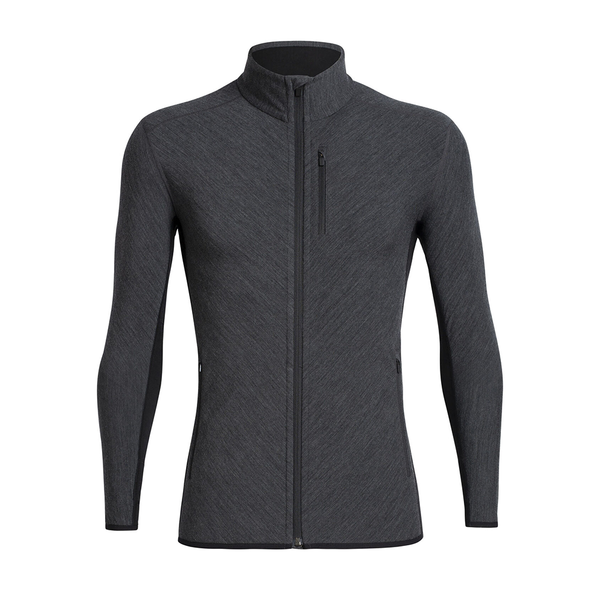 Mens Descender Ls Zip