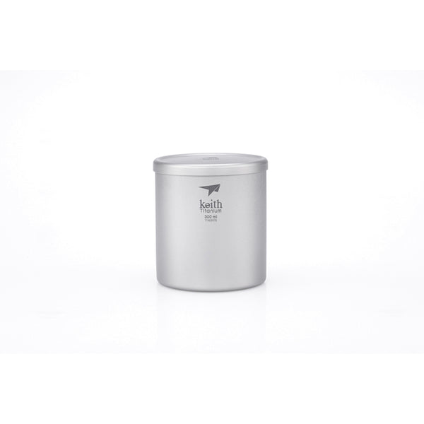 Keith - Double-Wall Titanium Mug with Lid (3302)