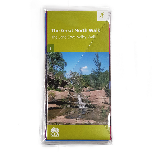Great North Walk Map Kit