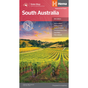 Hema Maps - South Australia - State Map
