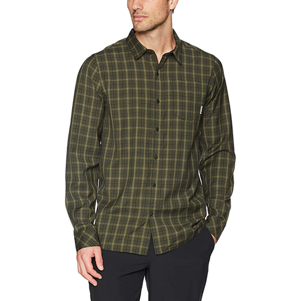 Mens Departure Ii Ls Shirt Plaid