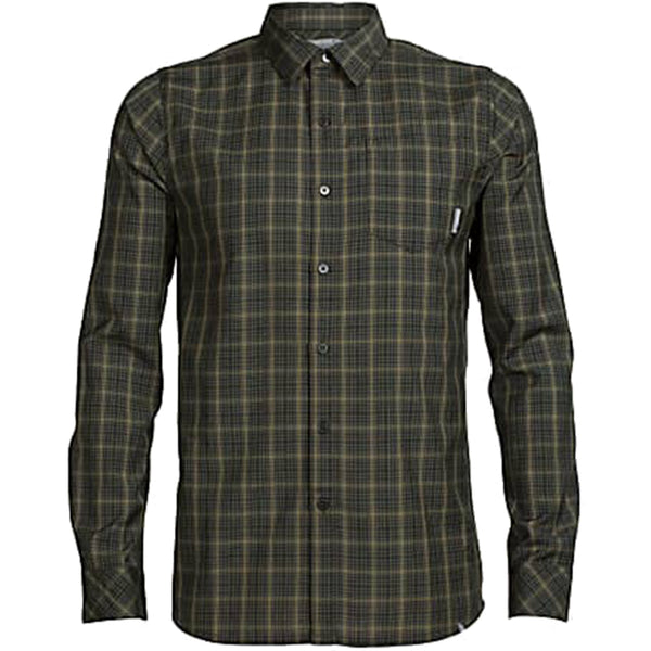 Icebreaker - Mens Departure Ii Ls Shirt Plaid