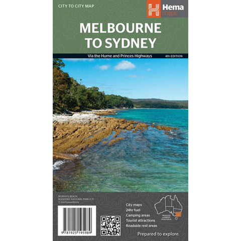 Hema Maps - Melbourne to Sydney Map