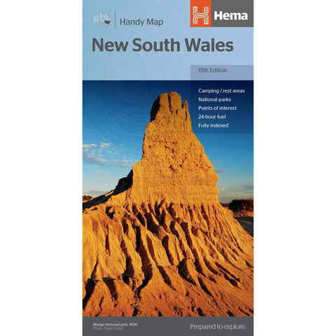 Hema Maps - New South Wales - Handy Map
