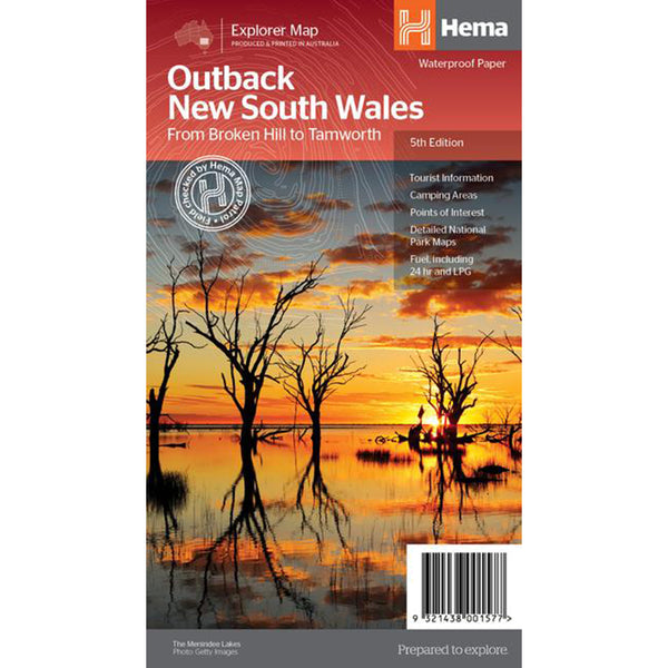 Hema Maps - Outback NSW - Regional Map