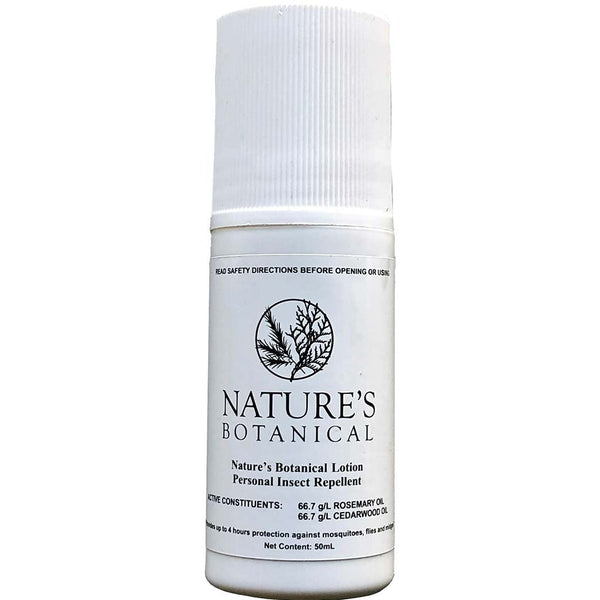 Nature's Botanical - Rosemary & Cedarwood Oil Insect Repellent Roll-On