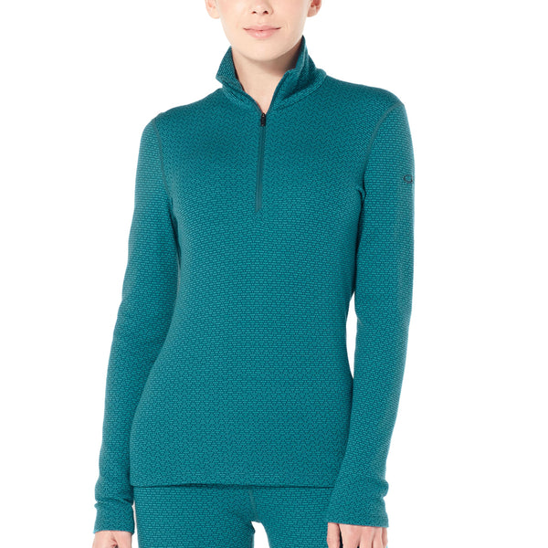 Wmns 250 Vertex Ls Half Zip Mountain Dash