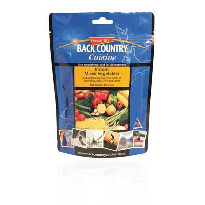 BACK COUNTRY - Instant Mixed Vegetables