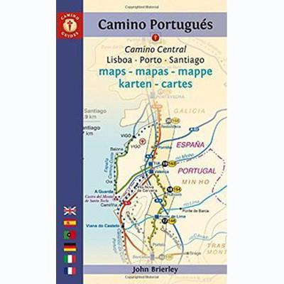 Books - Pilgrim's Guide: Camino Portugues Maps by John Brierly