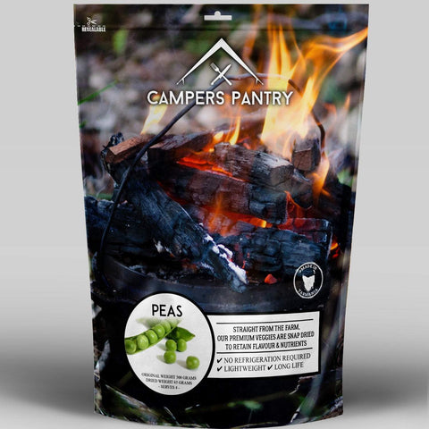 Campers Pantry - Freeze Dried Peas