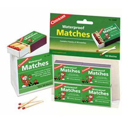 Coghlans - Waterproof Matches - Pkg Of 4