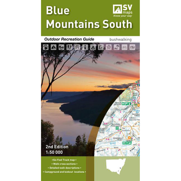 Hema Maps - Blue Mountains South