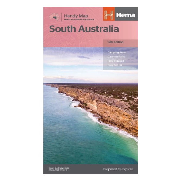 Hema Maps - South Australia - Handy Map