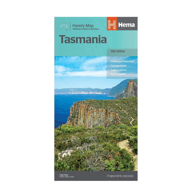 Hema Maps - Tasmania - Handy Map