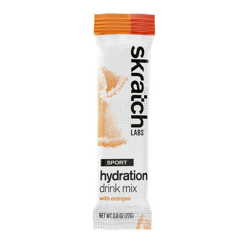 Skratch Labs - Sport Hydration Drink Mix, Oranges, Single Serving