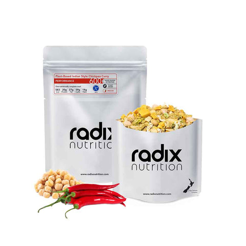 Radix Nutrition - Plant Based Indian Style Chickpea Curry