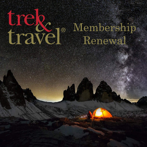Trek & Travel - Membership Renewal