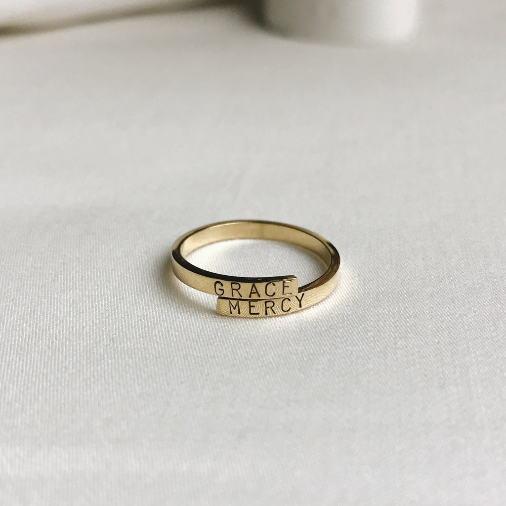 Sample Sale: GRACE MERCY Remembrance Ring