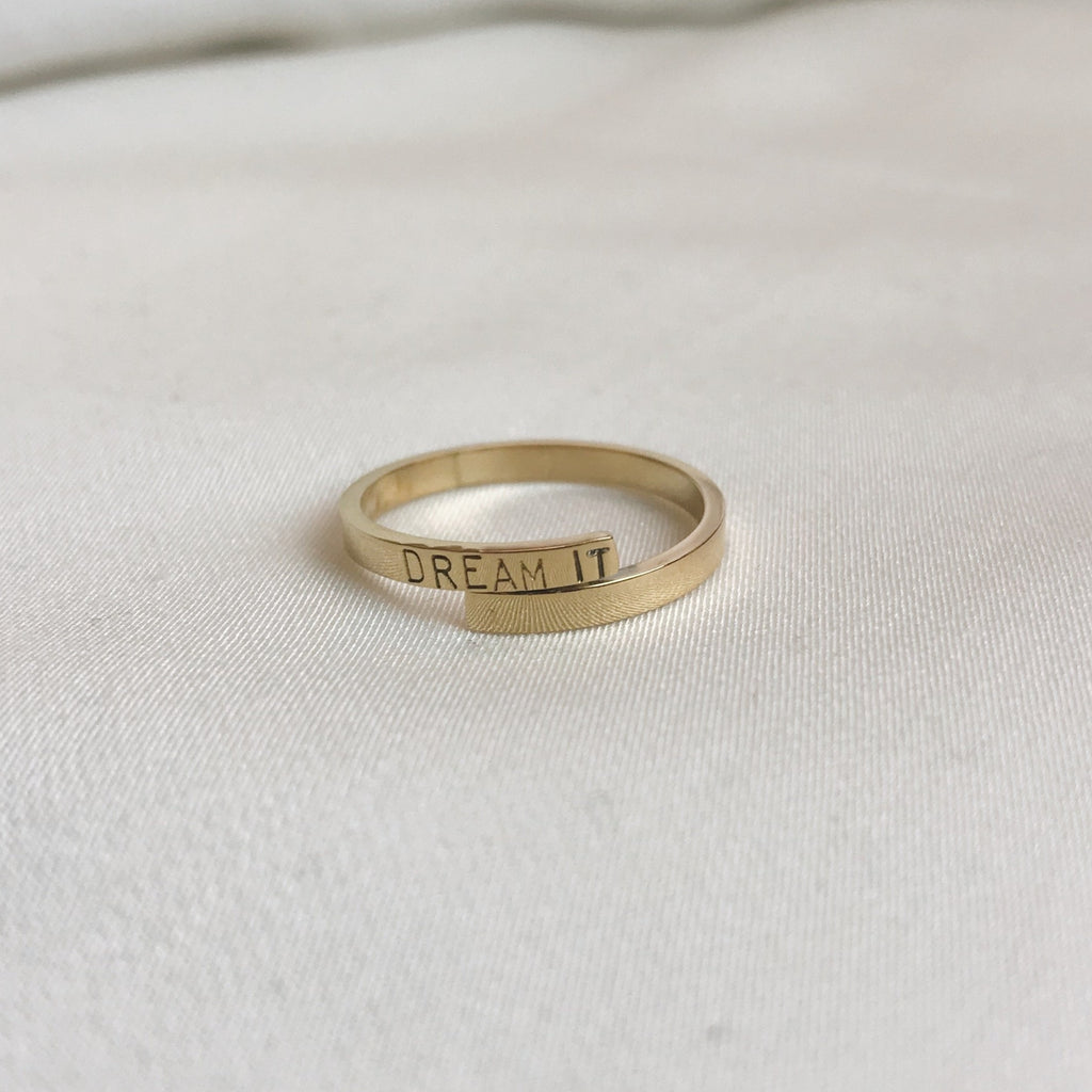 Sample Sale: DREAM IT Remembrance Ring
