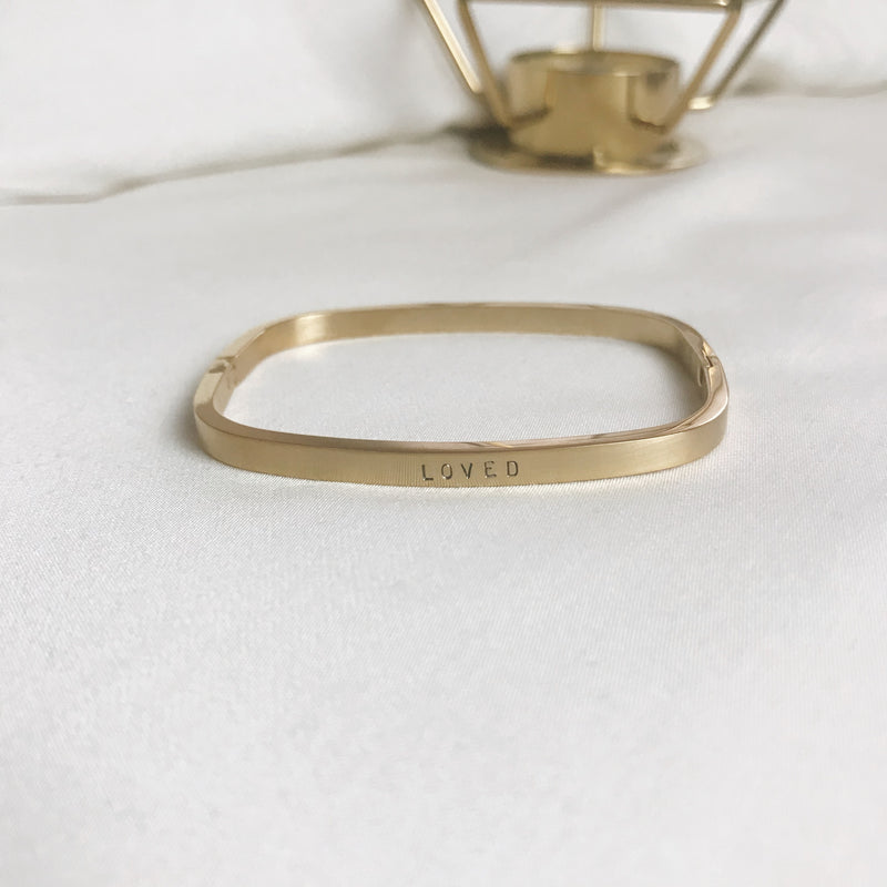 Sample Sale: Faith Square Bangle
